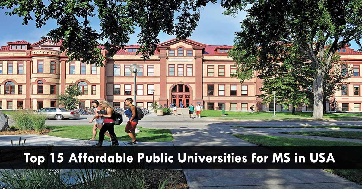15 Best Affordable Public Universities to Study MS in USA |
