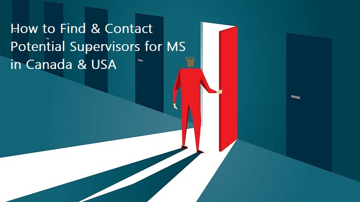 How to Find and Contact Potential Supervisors while Applying for MS in Canada